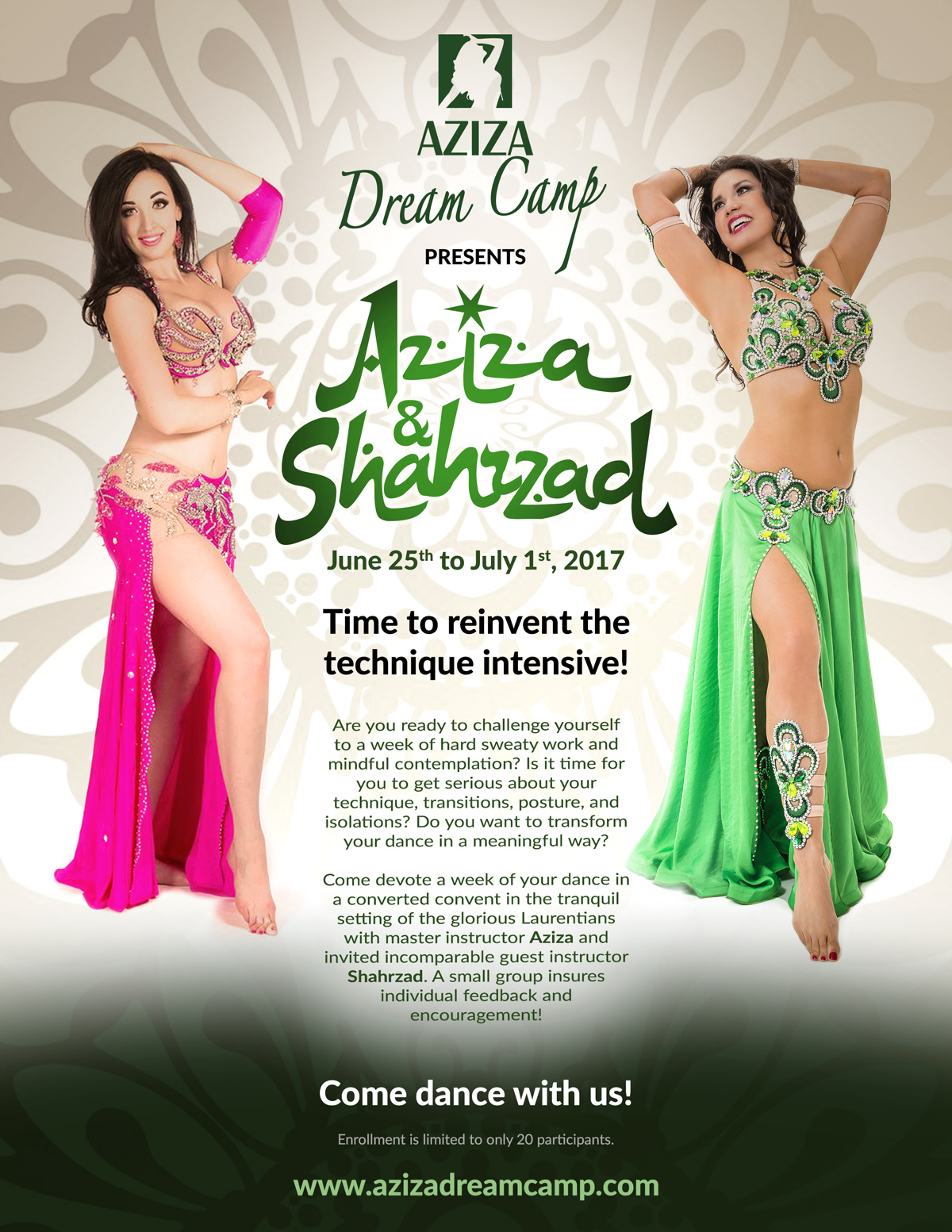 belly dance retreat aziza dreamcamp june 2017 shahrzad
