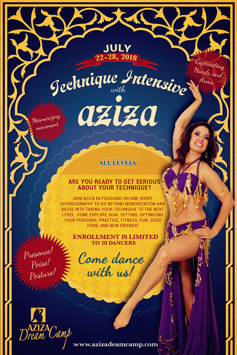 bellydance aziza dreamcamp with aziza