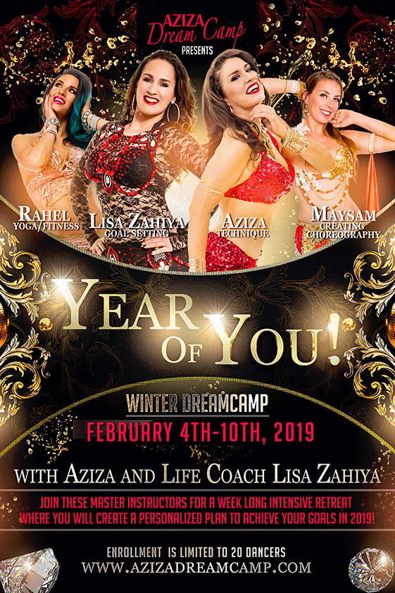 the Year Of You aziza dreamcamp