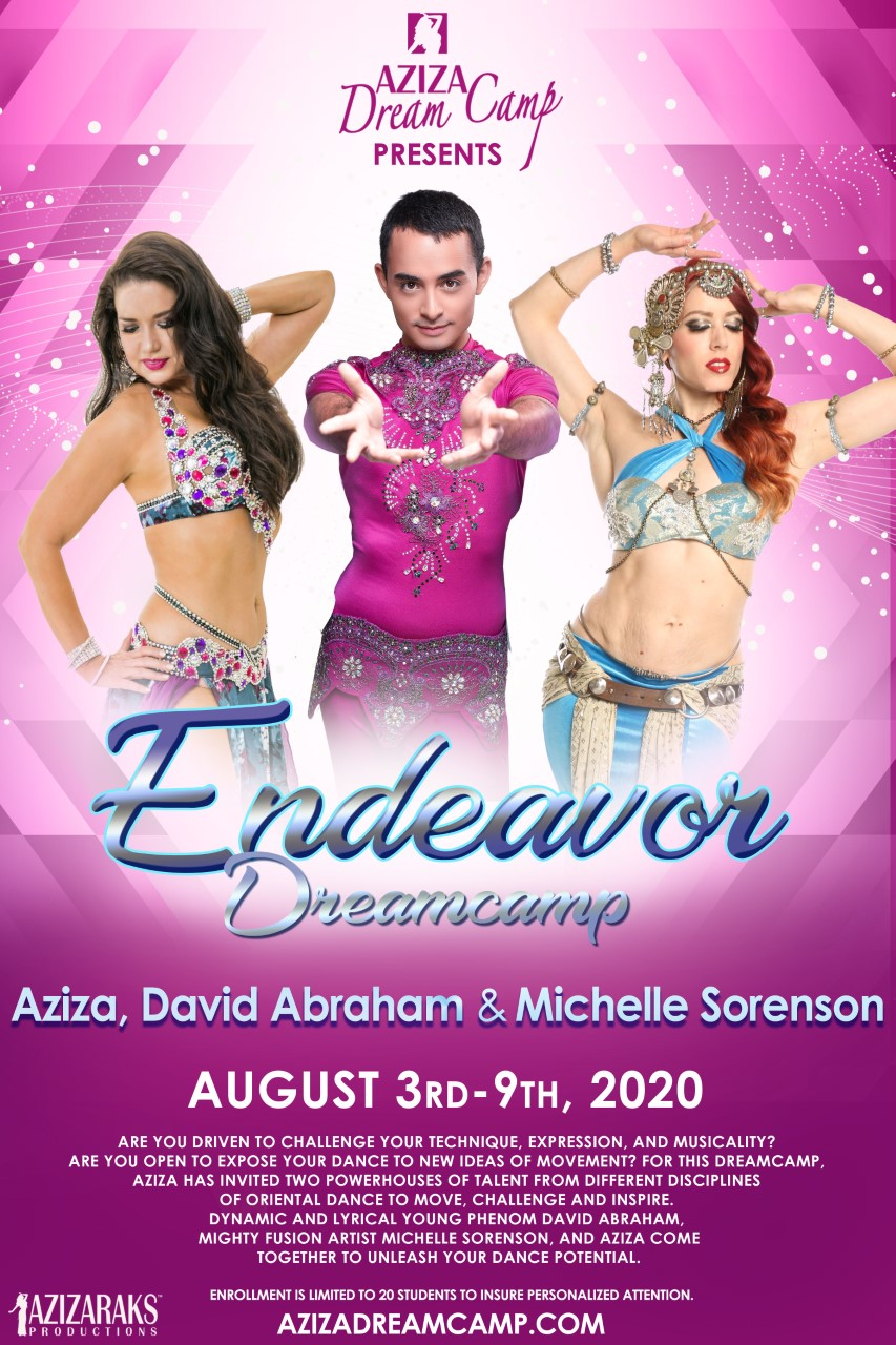 Bellydance Aziza David Abraham and michelle Sorenson Dreamcamp 2020 Endeavor